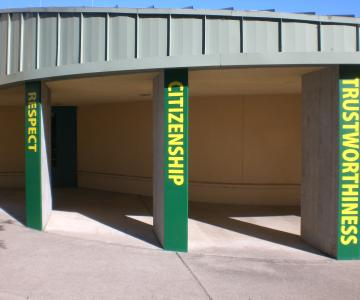 Sequoia Middle School Pillars