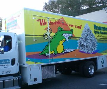 Wrap on Box Truck